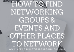 NTFB Blog Posts - networking groups