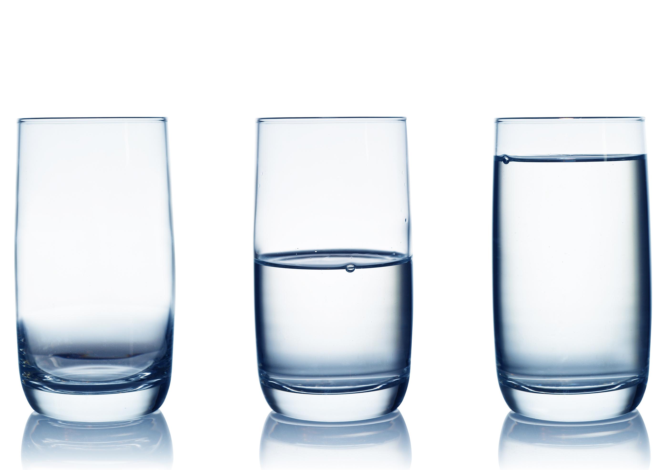 Glass Half Empty Or Half Full