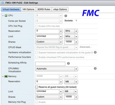 Fun in the Lab: FTDv & FMC - Install and Deploy : Networking