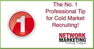 cold market recruiting