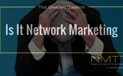 is it network marketing