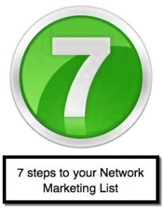 network marketing list