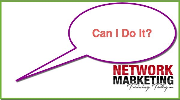 Network Marketing Prospecting article 2/4 Can I do it