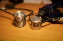 Gehäuse Vergleich D=50mm x L=50mm gegen D=42mm x L40mm