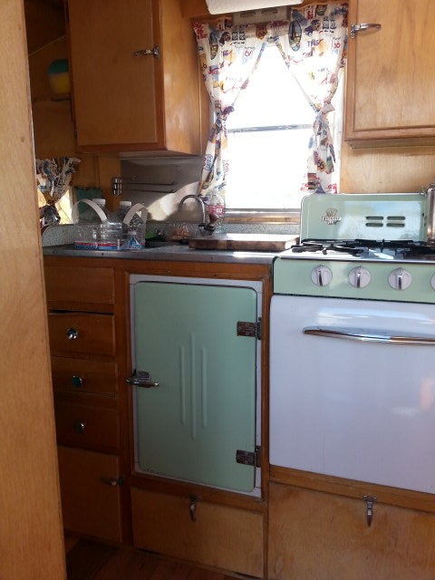 Cardinal Travel Trailer Interior All Original