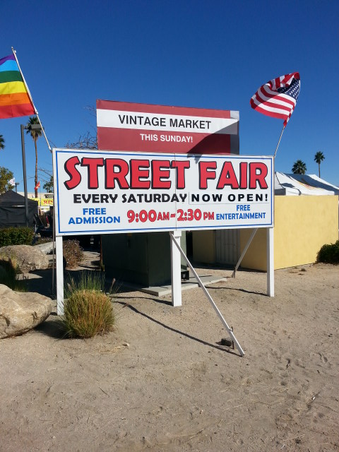 Palm Springs CA Street Fair