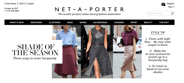 Shade of the Season from Net-aPorter