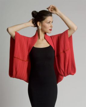Pleated Wrap