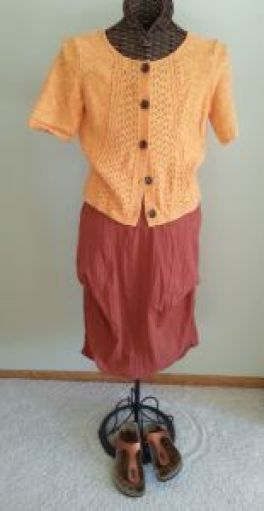 MT Skirt Orange