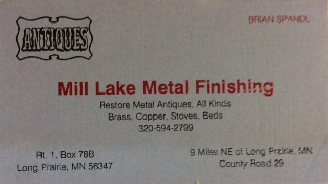 Mill Lake Metal Finishing