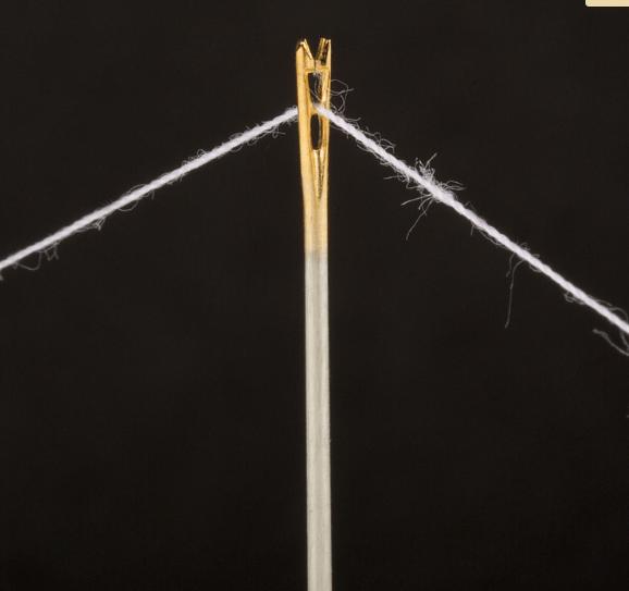 Self Threading Needle