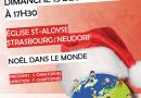 Concert de Noël – 13 décembre à 17h30 – église S.-Aloyse