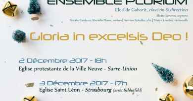 Invitation au concert : Gloria in excelsis Deo !