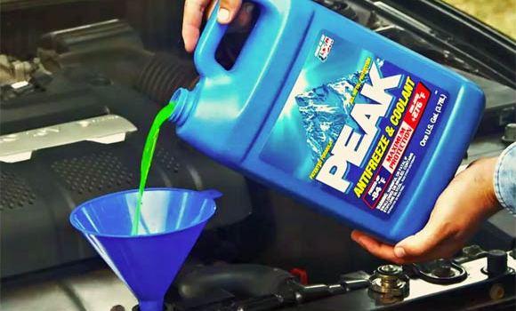 Frostschutzmittel nachfüllen