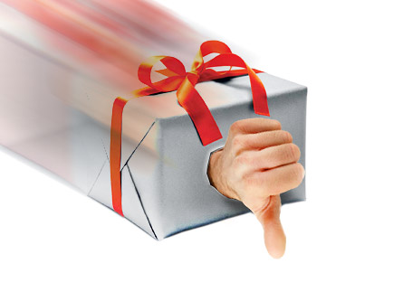 Geschenk umtauschen