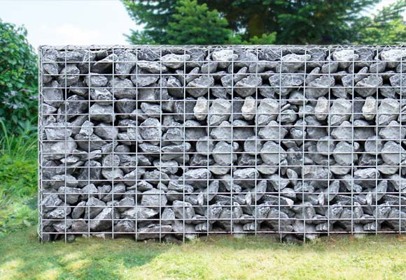 Gabionen: Ist ein Zaun aus Steine blickdicht?