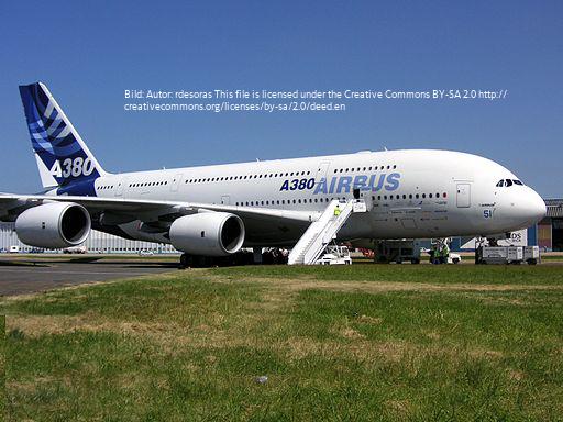 Airbus_A380 lizenz_Paris_Air_Show