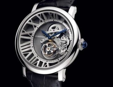 Neu zur SIHH 2012: Rotonde de Cartier Tourbillon Cadran Lové