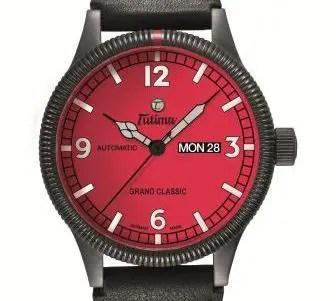 Hart im Nehmen: Tutima´s Grand Classic Black Chronograph PR zeigt Farbe