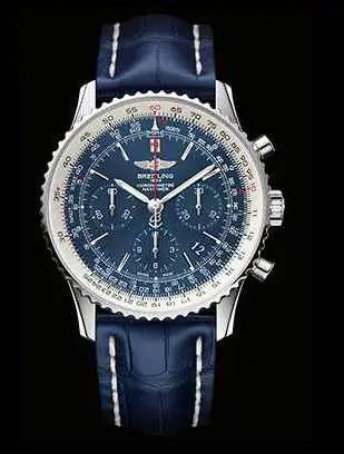 60 jahre breitling navitimer limitierte serie navitimer blue sky. Black Bedroom Furniture Sets. Home Design Ideas