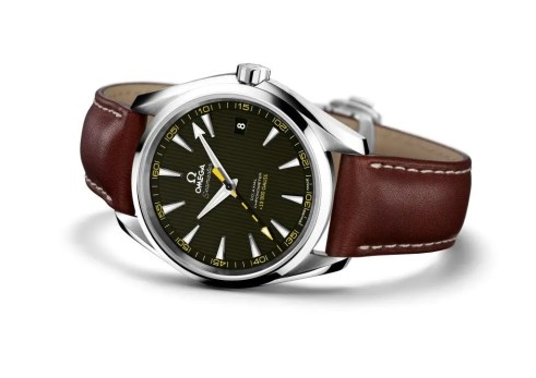 Omega_Seamaster AT Anti-magnetic_on calf leather