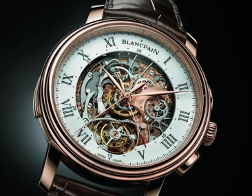 Blancpain Carrousel Répétition Minutes Chronographe Flyback