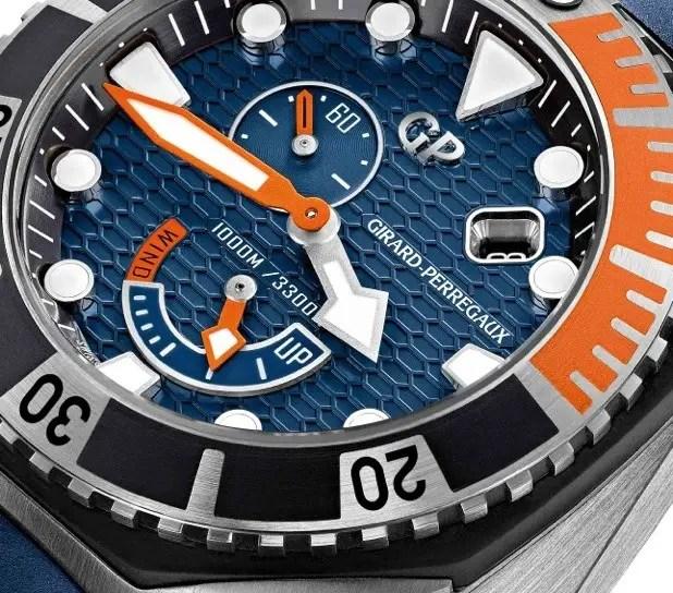Girard Perregaux Sea Hawk Blue