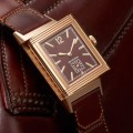 Jager LeCoultre Grande Reverso Ultra Thin 1931_chocolate dial