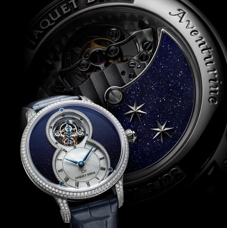 Jaquet Droz Grande Seconde Tourbillon Aventurine