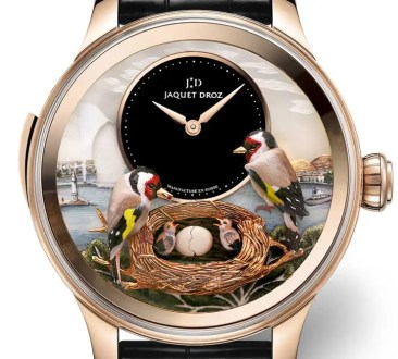 Jaquet Droz präsentiert The Bird Repeater Geneva