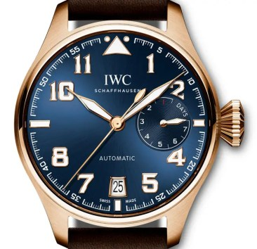 IWC Grosse Fliegeruhr Edition Le Petit Prince in Rotgold