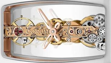 Corum  Miss Golden Bridge Ceramic