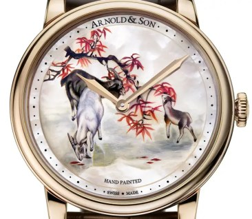 Arnold & Son HM Goats: 8 Exemplare zum Mondjahr der Ziege