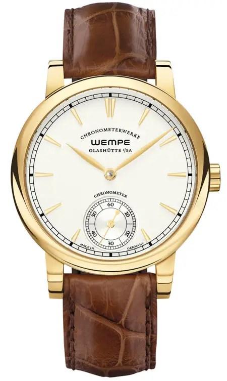 Chronometerwerke Kleine Sekunde