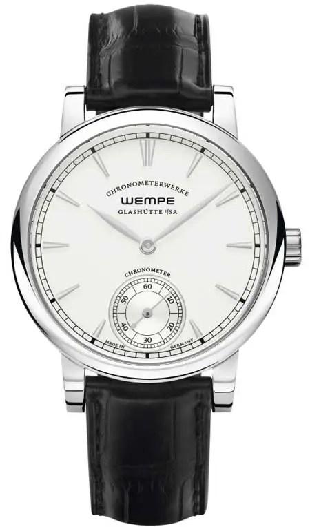 Chronometerwerke Kleine Sekunde Edelstahl WG070002