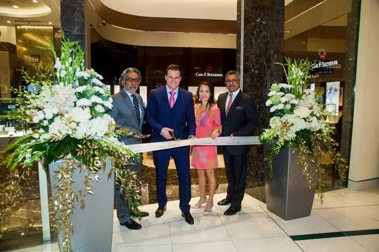 Carl F. Bucherer Boutique in Dubai eröffnet