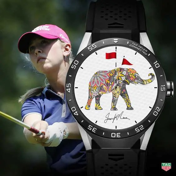 TAG Heuer Connected Watch Jessica Korda 2