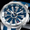 Perrelet Turbine GMT Blau