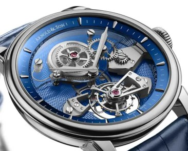 Arnold & Son TES Blue Tourbillon