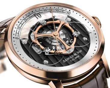 Neue Version der Golden Wheel von Arnold & Son