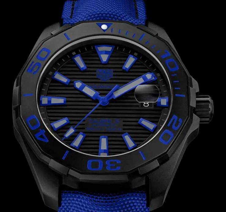 Tag Heuer Aquaracer 300 Meter Black Titanium
