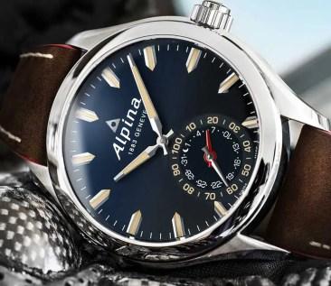 Die neue blaue Alpina Horological Smartwatch