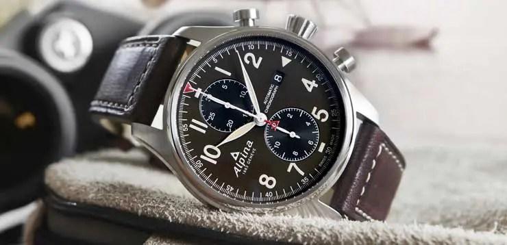Startimer Pilot Automatic Chronograph