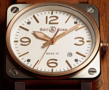Eleganz im Quadrat: Bell&Ross BR03-92 Steel Rose Gold