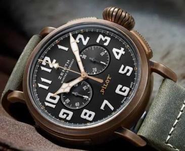 Neu in der Zenith Heritage Collection: Der Pilot Extra Special Chronograph
