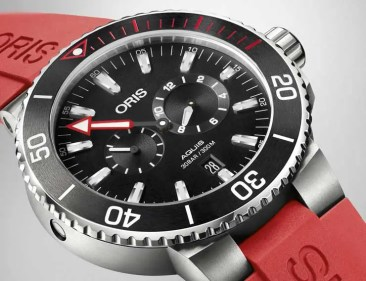 Unter Wasser zählt jede Minute: Oris Regulateur Meistertaucher