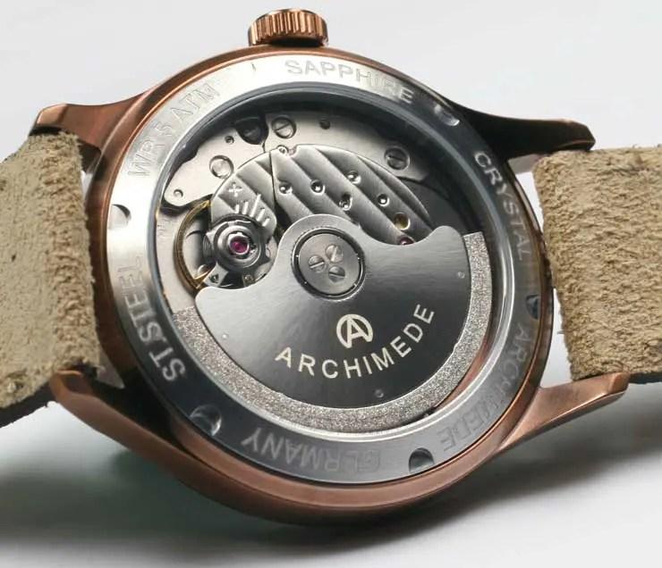 Archimede Damenuhr Klassik 36 BIC