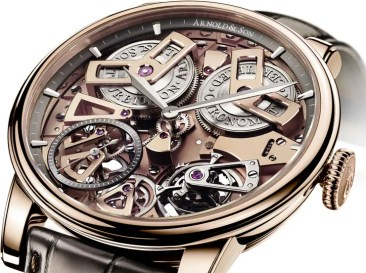 Aus der Arnold & Son Royal Collection: Tourbillon Chronometer No. 36