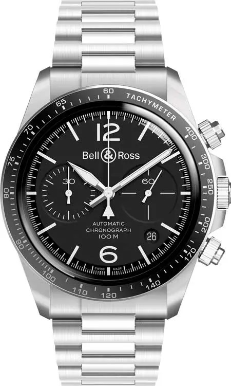 Bell&Ross-BR-V2-94-BlackSteel aus der Bell & Ross Vintage-Kollektion