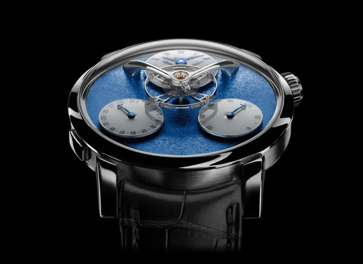 MB&F Legacy Machine Split Escapement_WG_Blue_Face